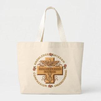 RN Caduceus Jumbo Tote Bag