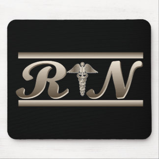RN Caduceus Mouse Pad