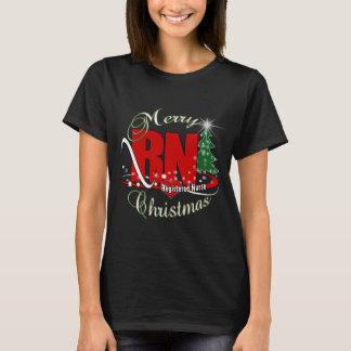 RN CHRISTMAS Registered Nurse T-Shirt