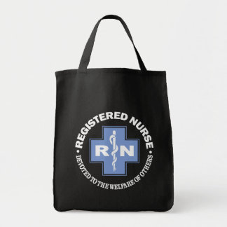 RN -Dedicated To Others Grocery Tote Bag