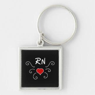 RN Love Tattoo Key Ring