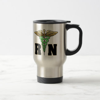 RN Nurse Travel Mug