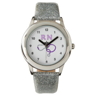 RN Nurses Stethoscope Watch