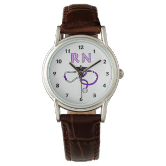 RN Nurses Stethoscope Wrist Watches