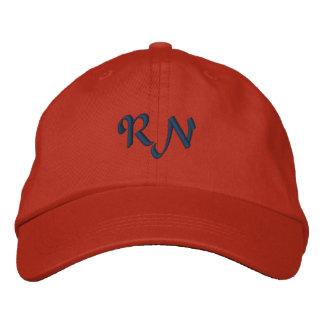 RN Registered Nurse Embroidered Hat