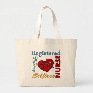 RN - Registered Nurse Jumbo Tote Bag