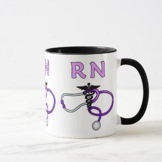 RN Stethoscope Mug