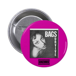 Rnd. Button Bags Survive  Dangerhouse