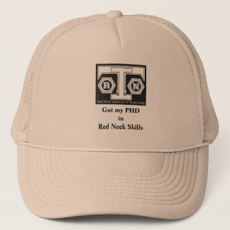 RNIT Ball Cap - PHD in Red Neck Skills