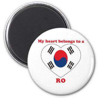 Ro 6 Cm Round Magnet