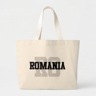 RO Romania Jumbo Tote Bag