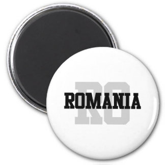 RO Romania Magnet