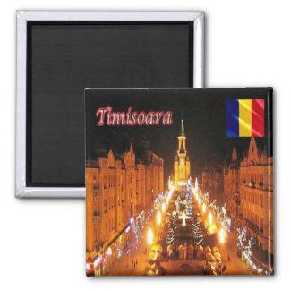 RO - Romania - Timisoara - Victory Square Magnet