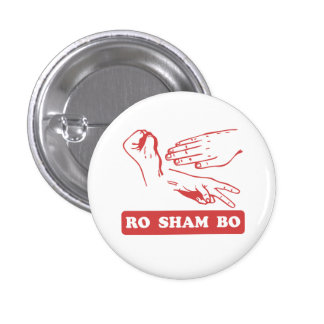 Ro Sham Bo Buttons