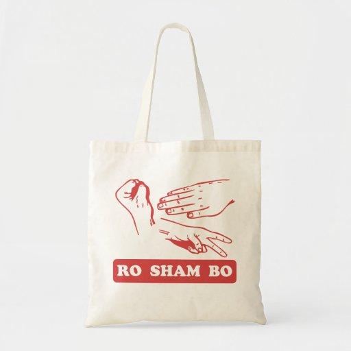 Ro Sham Bo Canvas Bags