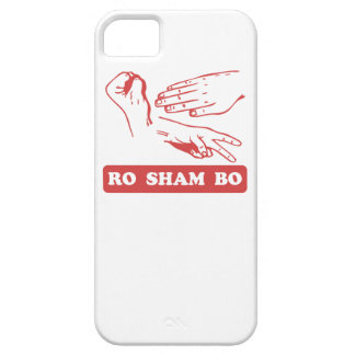 Ro Sham Bo iPhone 5/5S Cases