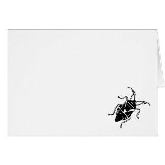 Roach/Bug Greeting Card