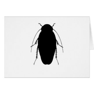 Roach Illustration Greeting Card
