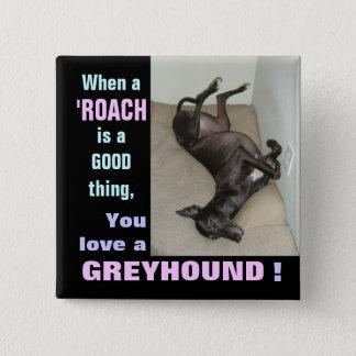 Roach Love 15 Cm Square Badge