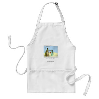 Roach Motel Cartoon On A Quality Apron Apron