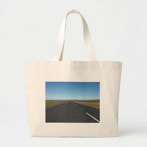 Road Canvas Bag