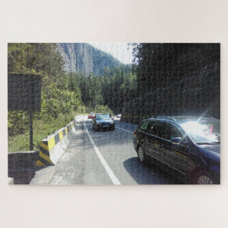 Road Between The Canyons Jigsaw Puzzle