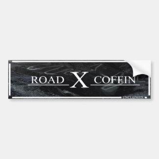 Road Coffin Bumper Sticker