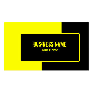 Road Construction Business Card Template