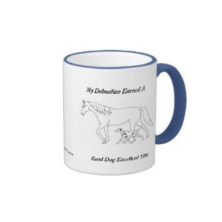 Road Dog Excellent Title Ringer Mug
