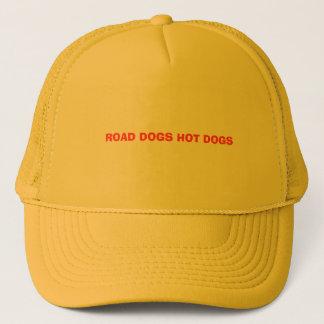 ROAD DOGS HOT DOGS TRUCKER HAT