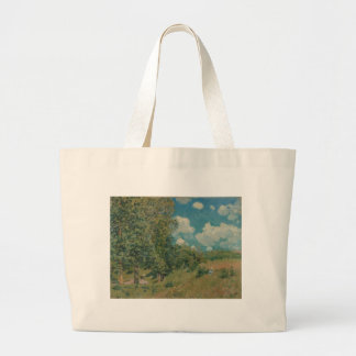 Road from Versailles to Saint-Germain by A Sisley Canvas Bag