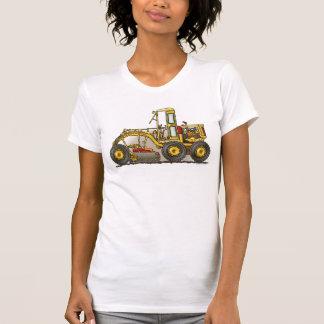 Road Grader Construction Girls T-Shirt