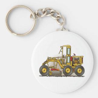 Road Grader Construction Key Chain