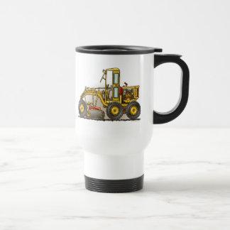Road Grader Construction Travel Mug