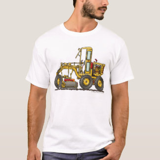 Road Grader Dirt Scraper Construction Apparel T-Shirt