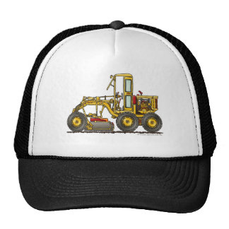 Road Grader Dirt Scraper Construction Hats