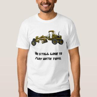 Road grader tee shirt