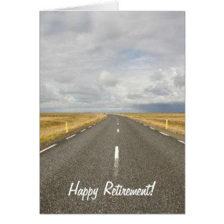 Road Happy Retirement Card