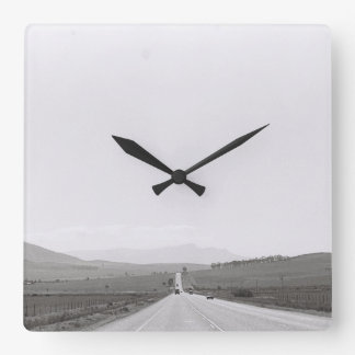 Road Landscape Kodak Film Image Clock