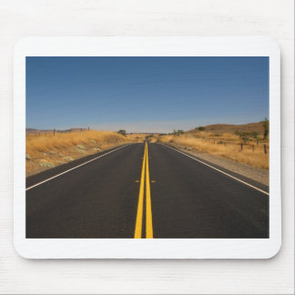 Road - Long Highway Mouse Pad