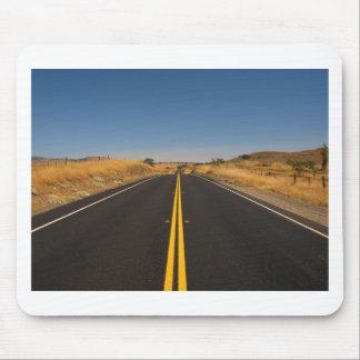 Road - Long Highway Mousepads