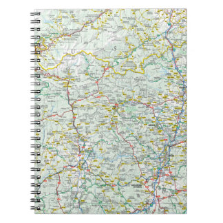 Road map notebook