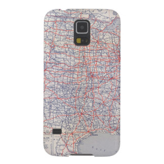 Road map United States Galaxy S5 Case