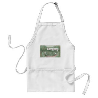 Road More Traveled By Adult Apron