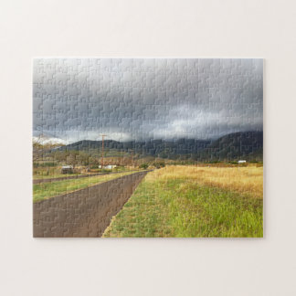 Road Near Lahaina, Maui, Hawaii Jigsaw Puzzle