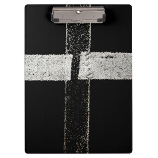 Road Paint - Cross Clipboard