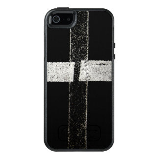 Road Paint - Cross OtterBox iPhone 5/5s/SE Case