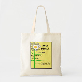 ROAD PEACE IS HEALTHY - tote Tote Bag