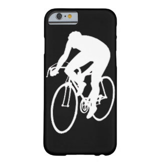 """""""Road racing cyclist"""" Barely There iPhone 6 Case"""