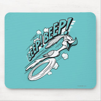 "ROAD RUNNER™ ""BEEP BEEP!"" Halftone Mouse Pad"